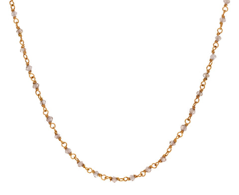 Zircon Rosary Gancino Necklace - TWISTonline