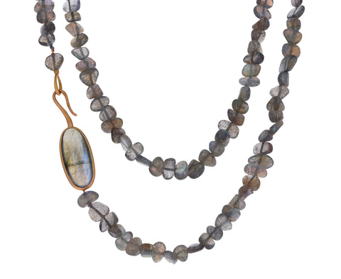 Labradorite Asola Gancio Necklace