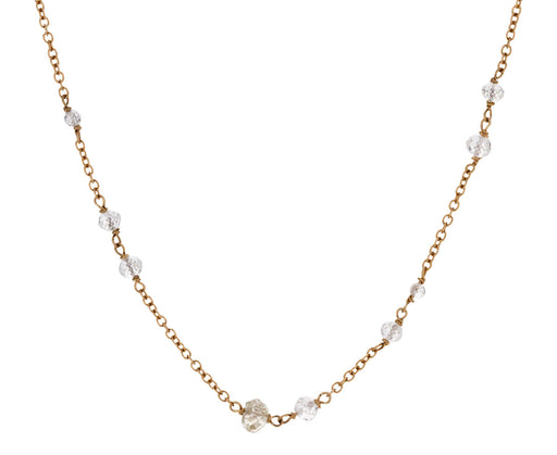 Diamond Rosary Gancino Necklace - TWISTonline