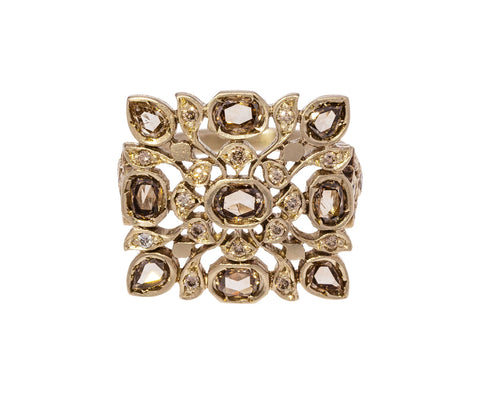 Brown Diamond Avesh Ring