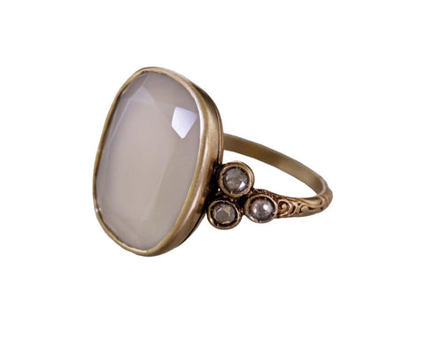Moonstone and Diamond Beauty Ring zoom 2-anaconda-ring