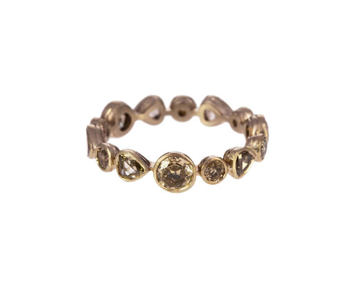 Brown Diamond Big Mood Ring - TWISTonline