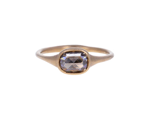 Champagne Diamond Oval Susina Ring