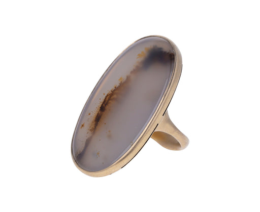 Dendritic Agate Isla Ring