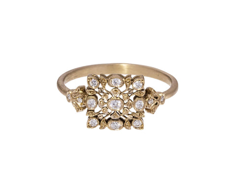 Micro Diamond Avesh Ring
