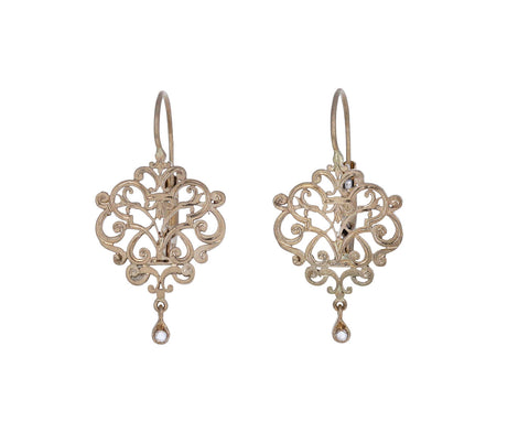 Mini Mystere Diamond Earrings