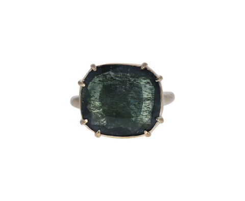 Green Beryl Gergette Ring