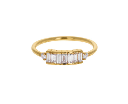 Baguette Diamond Line Up Ring
