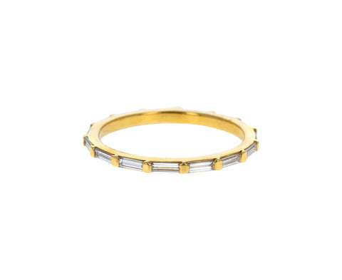 Baguette Diamond Eternity Band - TWISTonline