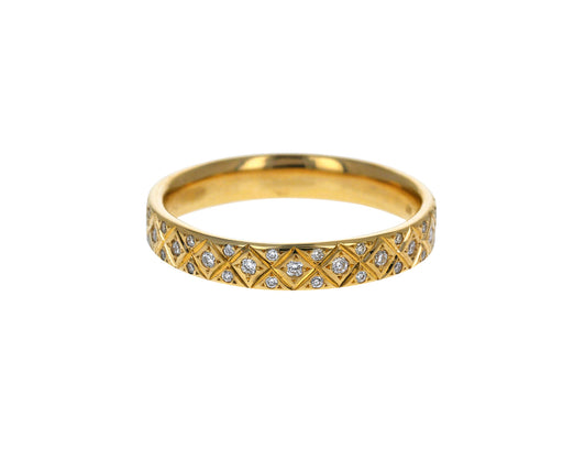 Diamond Criss Cross Band - TWISTonline