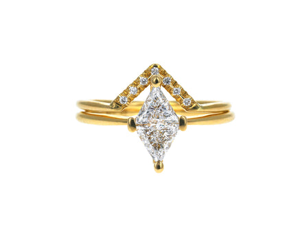 Diamond Rhombus Wedding Set - TWISTonline