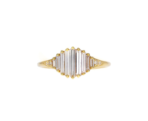 Point of Light Diamond Solitaire Ring