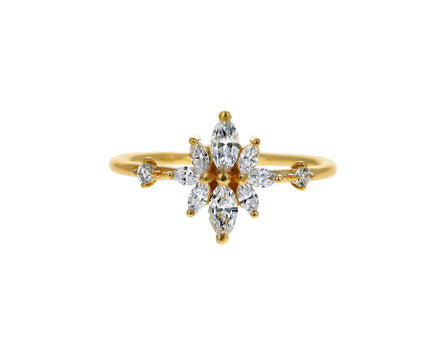 Marquise Diamond Mirror Ring - TWISTonline