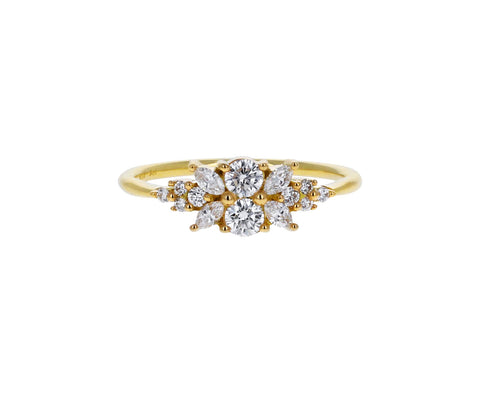 Diamond Flora Ring
