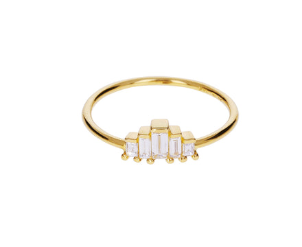 Small Five Baguette Diamond Ring - TWISTonline