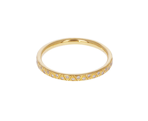 Engraved Diamond Eternity Ring - TWISTonline