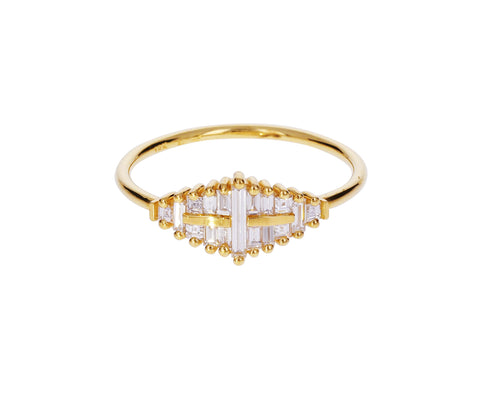 Needle Diamond Cluster Ring - TWISTonline