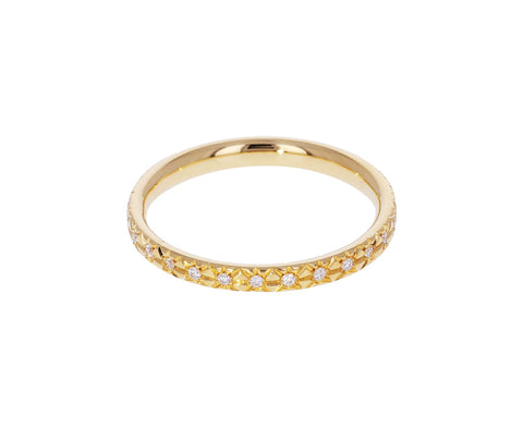 Star Set Diamond Wedding Band - TWISTonline