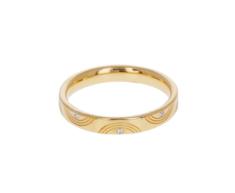 Wave Diamond Wedding Band - TWISTonline