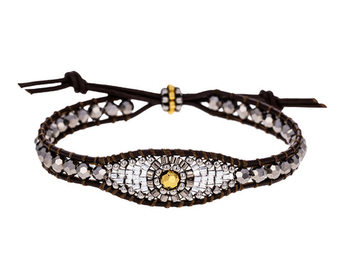 Beaded Evil Eye Bracelet - TWISTonline