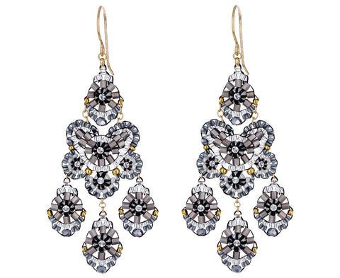 Swarovski Beaded Dangle Earrings - TWISTonline
