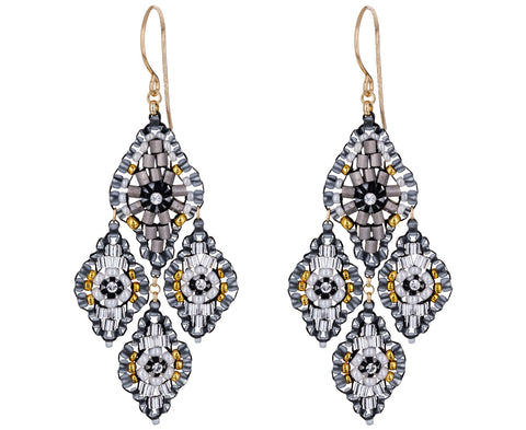 Beaded Dangle Earrings - TWISTonline