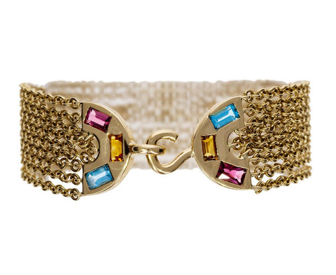 Multi-Chain Rainbow Bracelet - TWISTonline