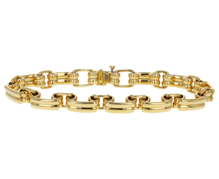 Reversible Narrow Link Bracelet