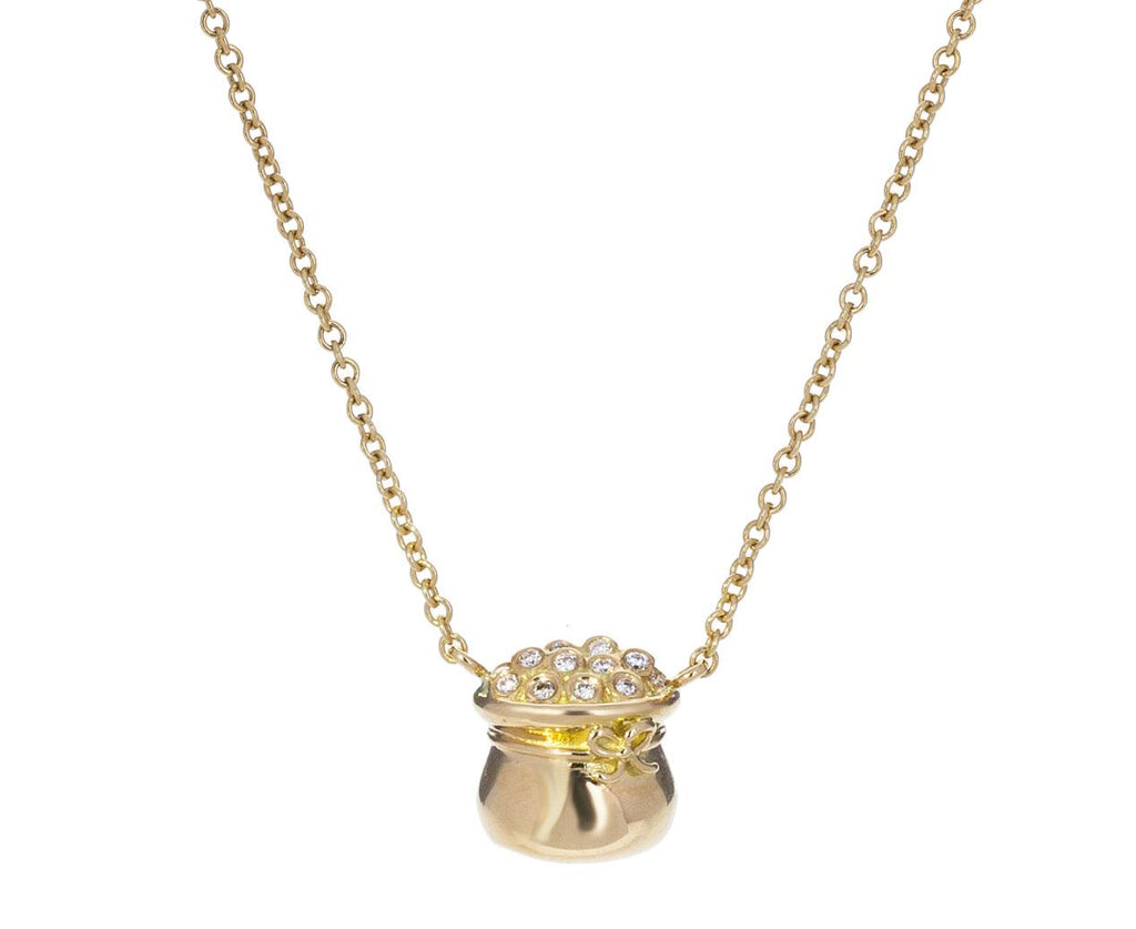 Diamond Pot of Gold Necklace - TWISTonline