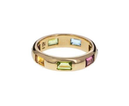 Rainbow Gem Eternity Band - TWISTonline