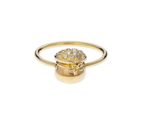 Diamond Pot of Gold Ring zoom 1_brent_neale_gold_pot_of_gold_ring