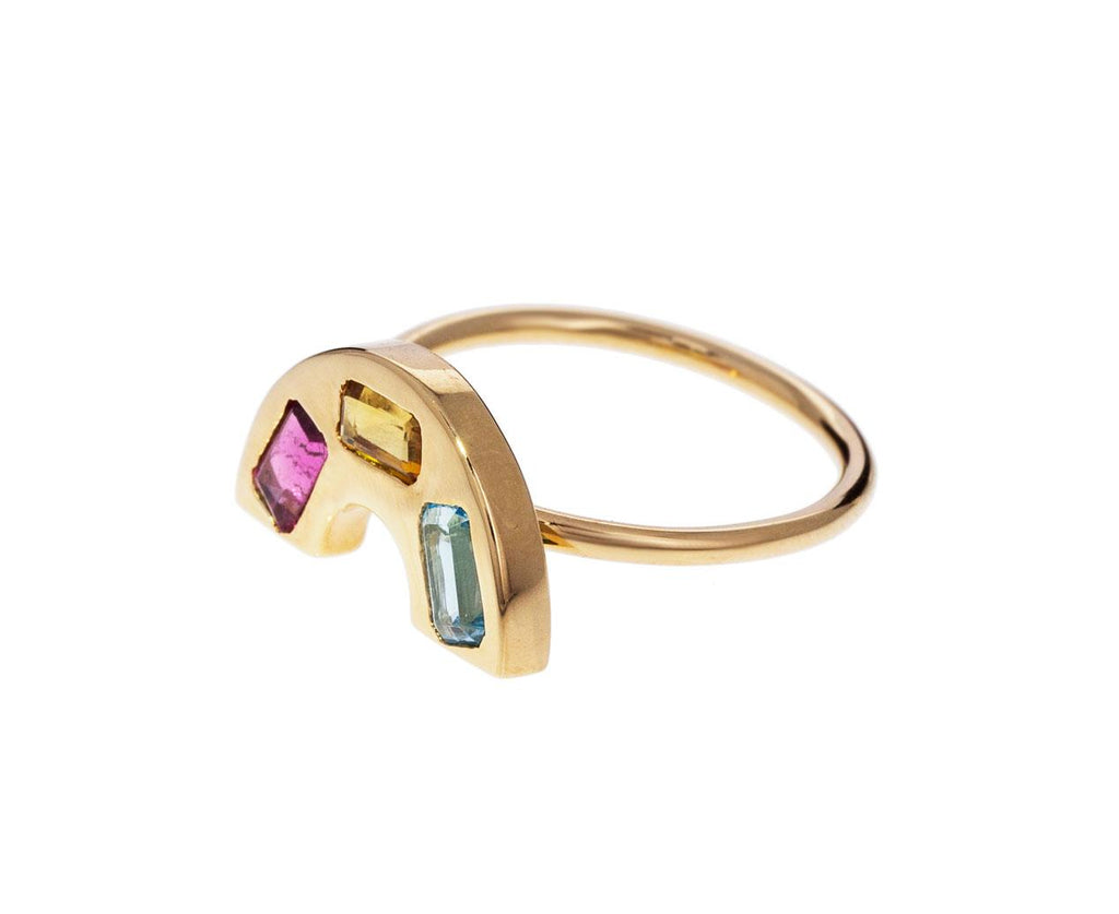 Multi Gem Rainbow Ring zoom 2_brent_neale_gold_rainbow_band_ring