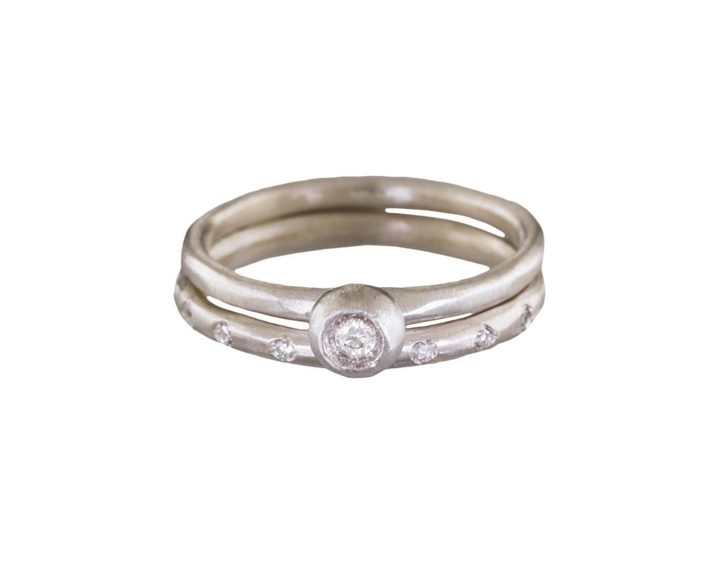 Diamond Pod Solitaire Ring - TWISTonline