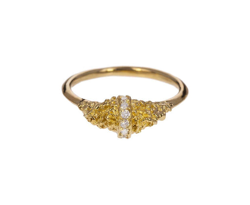 Chryseum Rock Lava Ring - TWISTonline