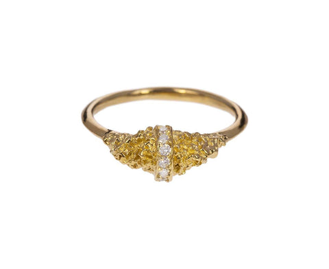 Chryseum Rock Lava Ring zoom 1_branch_gold_diamond_chryseum_rock_banded_ring