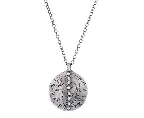 Diamond Small Rock Necklaces