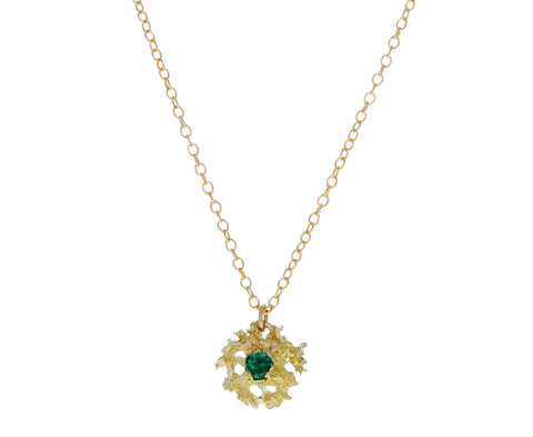 Emerald Star Pendant Necklace