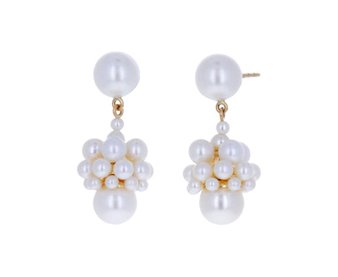 Freshwater Pearl Poire Earrings