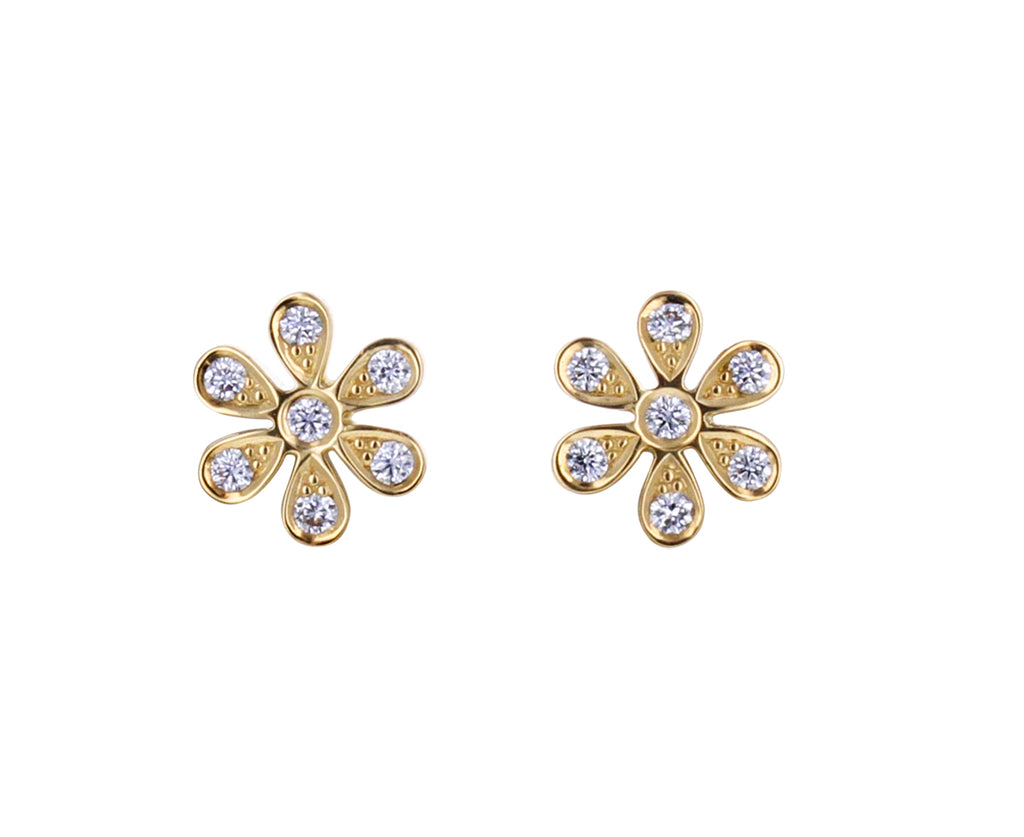 Diamond Fiore Earrings