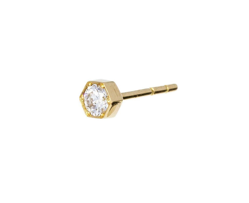 SINGLE Petite Cosimo Diamond Earring - TWISTonline