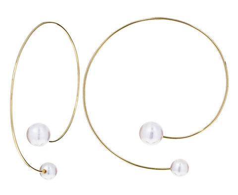 Akoya Pearl Babylon Clair Earrings - TWISTonline