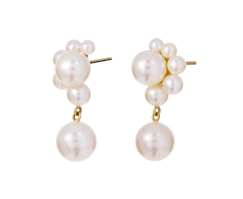 Federico Pearl Dangle Earrings - TWISTonline