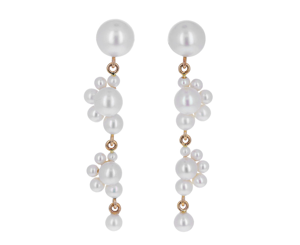 Freshwater Pearl Notte Earrings