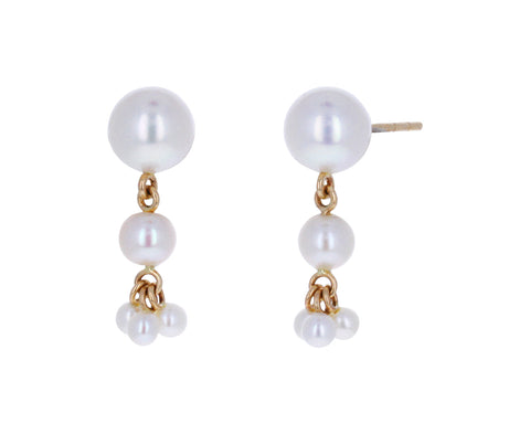 Freshwater Pearl Dolce Earrings
