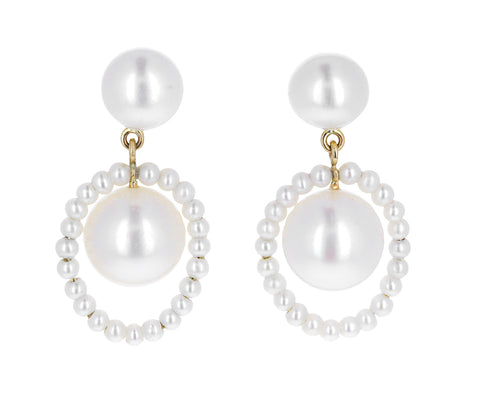 Eau du Soleil Pearl Earrings