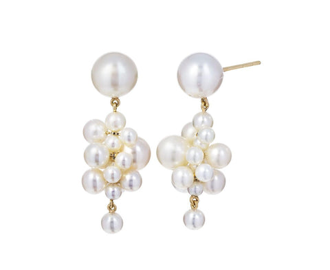 Pearl Botticelli Earrings - TWISTonline