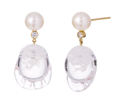 Venus Verre Diamant Earrings