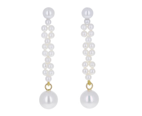 Pearl Tresse Earrings