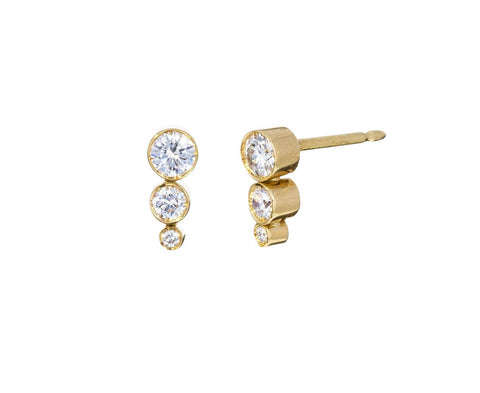 Petite Diamond Sandro Earrings - TWISTonline