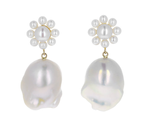 Margherita Venus Pearl Earrings